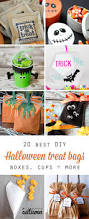 halloween goodies for toddlers 20 cute u0026 easy diy halloween treat bags and boxes it u0027s always autumn