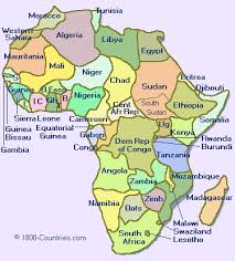 africa map 2014 travel network
