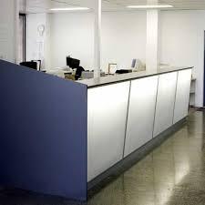 Illuminated Reception Desk Alimesh Reception Desk From Mitchel Laminates