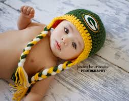 bay bay baby crochet green bay packers hat by alotofloops on etsy 25 00 for