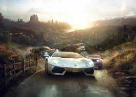 police lamborghini wallpaper wallpaper the crew game racing car speed open world
