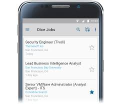 Dice Resume Search Dice Careers Mobile App Dice Products