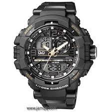 Jam Tangan Casio Medan jam tangan q q gw86j004y dualtime original jam tangan dualtime q q