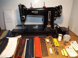 necchi industrial strength heavy duty sewing machine leather ebay