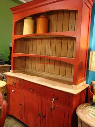 Country Hutch Furniture Best 25 Red Hutch Ideas On Pinterest Kitchen Hutch Redo China