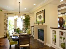 Dining Room With Fireplace by Photo Page Hgtv