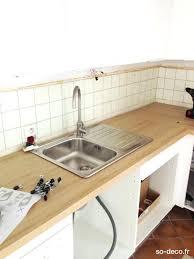 changer plan de travail cuisine carrelé changer plan de travail cuisine cuisine la revoila apras un gros