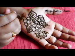eid special very simple easy henna mehndi designs for hands step