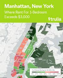 Nyc Maps Where Rents Are Too Damn High Trulia U0027s Blog