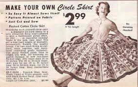 1950s Clothes For Kids 1950s Skirt Styles Circle Poodle Pencil Skirt History