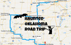 Oklahoma travel rewards images This haunted road trip will lead you to the scariest places in png