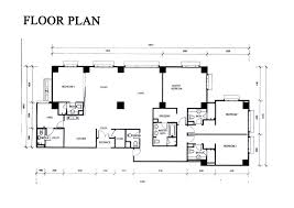 residence floor plan the capsquare residence floor plan