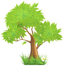 green painted tree png clipart clip library