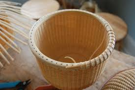 how to make a nantucket basket the great wide open