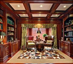 Mahogany Home Office Furniture Cool Mahogany Home Office Home Library Design Office Decorating