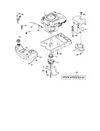 craftsman lawn tractor parts model 917276904 sears partsdirect