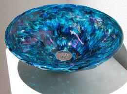 blue glass vessel sink bathroom lovely crafted glass bathroom sink design ideas glass