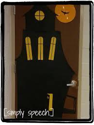 simply speech door decorations