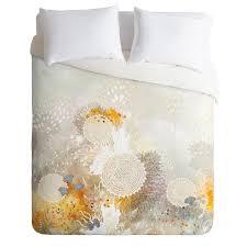 iveta abolina white velvet duvet cover deny designs home accessories