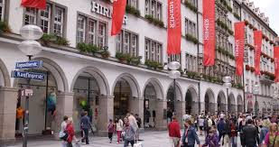 munich germany july 13 2014 hirmer iconic german store fashion