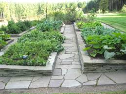 landscaping plans for backyard raised beds google search