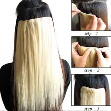 diy hair extensions new arrival european clip in on remy human hair extensions