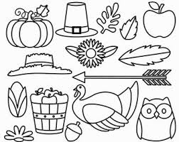 thanksgiving outline coloring pages coloring pages