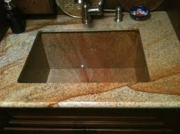 how to cut granite for sink hand crafted granite sink by ellison tile and stone custommade com
