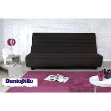 canapé dunlopillo conforama canape lit dunlopillo banquette lit clic clac matelas