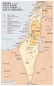 West Asia Map by Maps Of Gaza Strip Detailed Map Of Gaza Strip In English Road