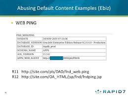 source boston attacking oracle web applications with metasploit u0026 w u2026