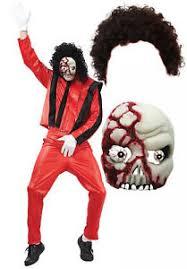 Michael Jackson Halloween Costume Michael Jackson Thriller Fancy Dress 80s Halloween Costume Afro