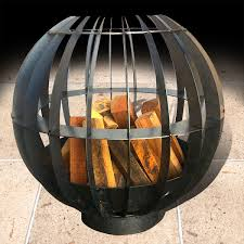 Fire Pit Globe by Dragon Brazier With Internal Fire Pit