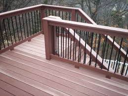 elevated deck plans stair railing ideas decks pinterest deck