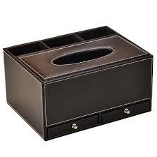 tissue paper box faux leather tissue paper boxes
