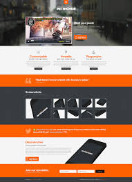 landing page templates for blogger 20 awesome landing page templates