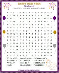 thanksgiving word search worksheets happy new year word search printable woman of many roles