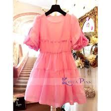 dress anak dress anak babydoll pink rsby 1381 elevenia