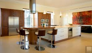 kitchen style modern swivel brown kitchen bar stools for