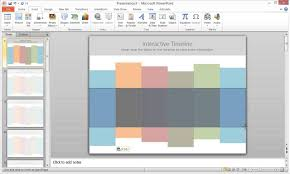 Interactive Timeline Template how to create an interactive timeline in powerpoint