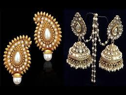 style of earrings indian ethnic earrings jewelry favorite indian style earrings