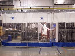 industrial curtains vinyl partitioning systems pvc curtain walls