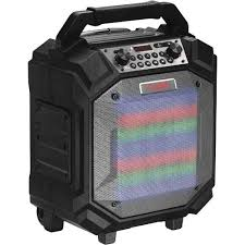 bluetooth party speakers with lights nyne performer portable bluetooth party speaker with led lights