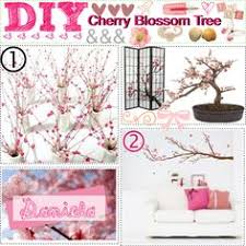 Cherry Blossom Tree Centerpiece by Diy Cherry Blossom Centerpiece With A Real Branch And Silk Flowers