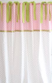 kinderzimmer gardinen rosa gardinen vorhänge vorhang gardinen punkte rosa weiß 140 x 240
