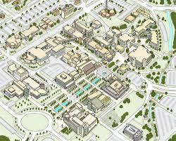 University Of Arkansas Map Campus Maps