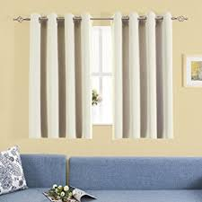 Curtains Set Blackout Curtains Set Aquazolax Decorative Eyelets