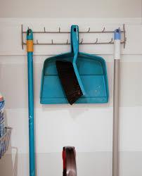 closet broom and mop storage ideas broom closet organizer