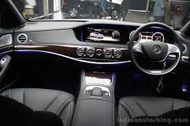 2014 mercedes s350 2014 mercedes s class s350 diesel launch interior indian