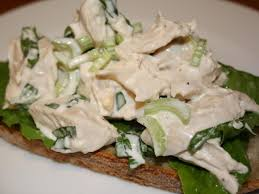 5 ingredients lightened up chicken salad food network healthy